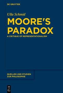 Moore's Paradox (eBook, ePUB) - Schmid, Ulla