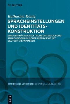 Spracheinstellungen und Identitätskonstruktion (eBook, PDF) - König, Katharina