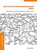 Major Trends in Theoretical and Applied Linguistics 1 (eBook, ePUB)