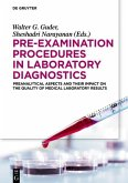 Pre-Examination Procedures in Laboratory Diagnostics (eBook, ePUB)