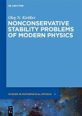 Non-conservative Stability Problems of Modern Physics (eBook, PDF)