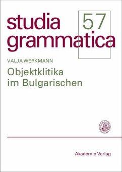 Objektklitika im Bulgarischen (eBook, PDF) - Werkmann, Valja