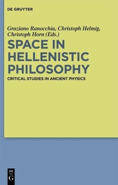 Space in Hellenistic Philosophy (eBook, PDF)