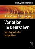 Variation im Deutschen (eBook, PDF)