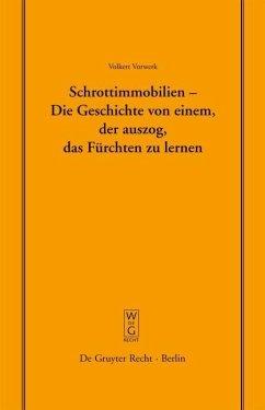 Schrottimmobilien - Die Geschichte von einem, der auszog, das Fürchten zu lernen (eBook, PDF) - Vorwerk, Volkert