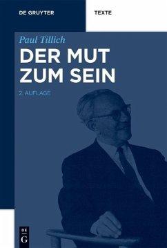 Der Mut zum Sein (eBook, PDF) - Tillich, Paul