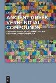Ancient Greek Verb-Initial Compounds (eBook, ePUB)