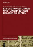 Erscheinungsformen und Handhabungen Heiliger Schriften (eBook, ePUB)
