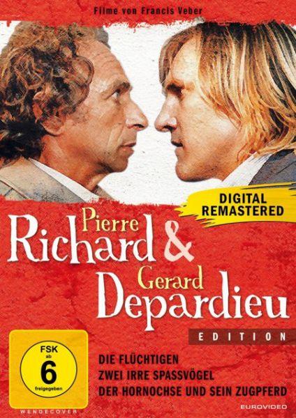 pierre richard g rard depardieu edition der hornochse. Black Bedroom Furniture Sets. Home Design Ideas