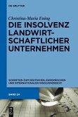 Die Insolvenz landwirtschaftlicher Unternehmen (eBook, PDF)