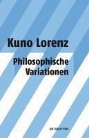 Philosophische Variationen (eBook, PDF) - Lorenz, Kuno