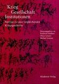 Krieg - Gesellschaft - Institutionen (eBook, PDF)