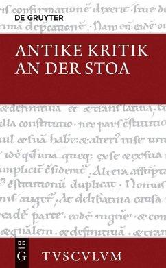 Antike Kritik an der Stoa