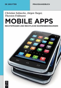 Mobile Apps (eBook, PDF) - Solmecke, Christian; Taeger, Jürgen; Feldmann, Thorsten