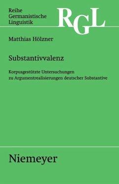 Substantivvalenz (eBook, PDF) - Hölzner, Matthias