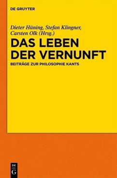 Das Leben der Vernunft (eBook, PDF)
