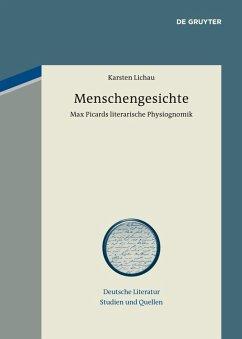Menschengesichte (eBook, PDF) - Lichau, Karsten