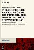 Philosophische Versuche über die menschliche Natur und ihre Entwickelung (eBook, ePUB)