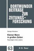 Kleiner Mann in großen Zeiten (eBook, PDF)