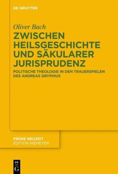 Zwischen Heilsgeschichte und säkularer Jurisprudenz (eBook, PDF) - Bach, Oliver