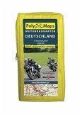 Biker Betten Motorradkarten Deutschland Set, 12 Bl.