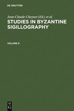 Studies in Byzantine Sigillography. Volume 9 (eBook, PDF)