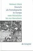 Deutsch als Fremdsprache in Europa vom Mittelalter bis zur Barockzeit (eBook, PDF)