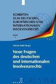 Neue Fragen des deutschen und internationalen Insolvenzrechts (eBook, PDF)