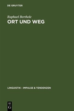 Ort und Weg (eBook, PDF) - Berthele, Raphael