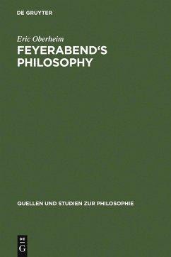 Feyerabend's Philosophy (eBook, PDF) - Oberheim, Eric