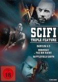 SciFi Triple Feature DVD-Box