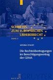 Die Rechteübertragungen im Berechtigungsvertrag der GEMA (eBook, PDF)