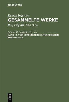 Gesammelte Werke Band 13 (eBook, PDF)