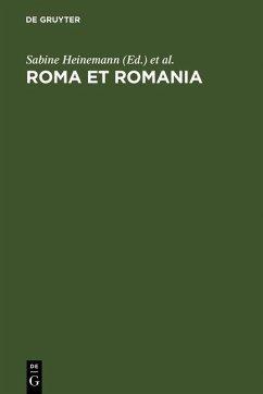 Roma et Romania (eBook, PDF)