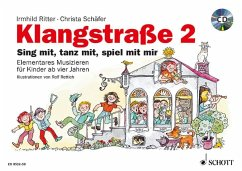 Klangstraße, Kinderheft, m. Audio-CD - Schäfer, Christa; Ritter, Irmhild