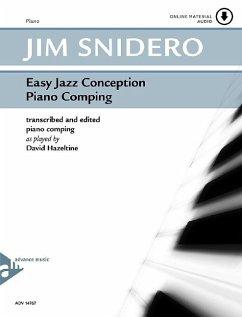 Easy Jazz Conception Piano Comping, w. Audio-CD - Snidero, Jim