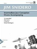 Intermediate Jazz Conception Drums, w. Audio-CD
