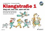 Klangstraße, Kinderheft, m. Audio-CD