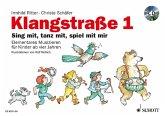 Klangstraße, Kinderheft, m. Audio-CD