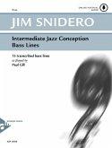 Intermediate Jazz Conception Bass Lines, Bass, w. Audio-CD