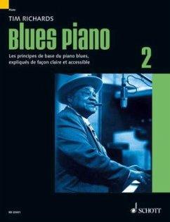 Blues Piano, französische Ausgabe - Richards, Tim