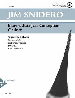 Intermediate Jazz Conception Clarinet, w. Audio-CD - Snidero, Jim