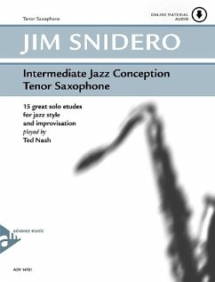 Intermediate Jazz Conception Tenor Sax, w. Audio-CD - Snidero, Jim
