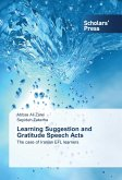 Learning Suggestion and Gratitude Speech Acts