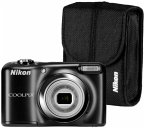 Nikon COOLPIX A10 Kit Kompaktkamera schwarz