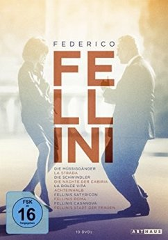 Federico Fellini Edition DVD-Box - Mastroianni,Marcello/Masina,Giulietta