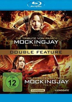 Die Tribute von Panem - Mockingjay, Teil 1 & 2 Double Feature - Lawrence,Jennifer/Hutcherson,Josh