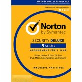 Symantec Norton Security 3.0 Deluxe - 5 Geräte (Download für Windows)