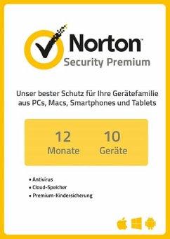 NortonLifeLock Norton Security 3.0 Premium - 10 Geräte (Download für Windows)