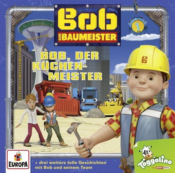 bob der baumeister bob der k chenmeister 1 audio cd. Black Bedroom Furniture Sets. Home Design Ideas